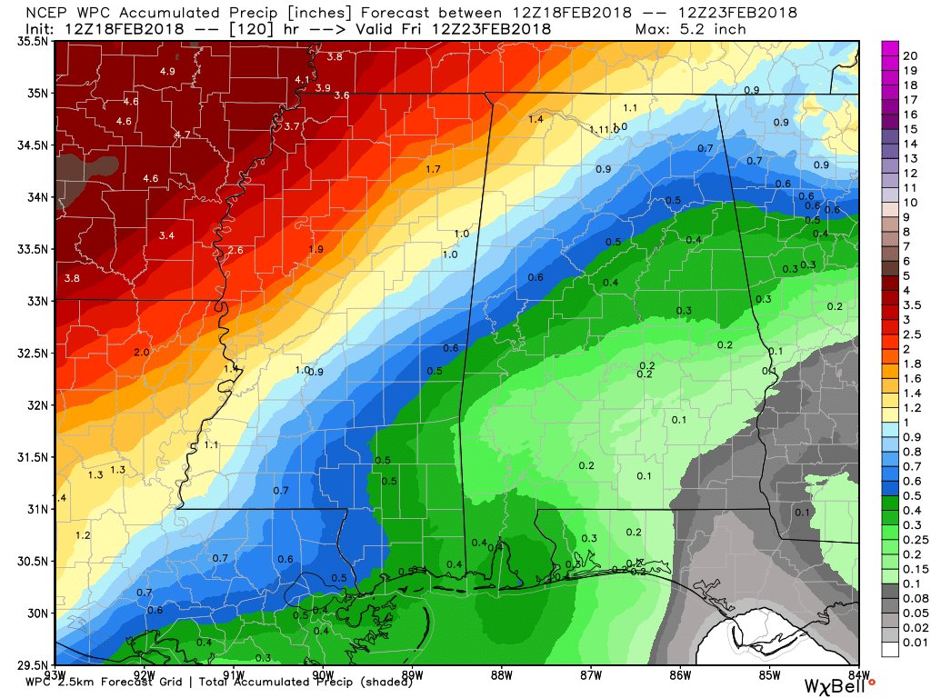 Weather report: warm temperatures for central Alabama – The
