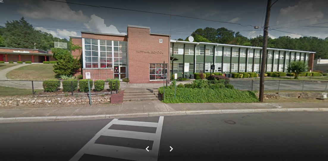 Huffman Middle School student detained after gun found