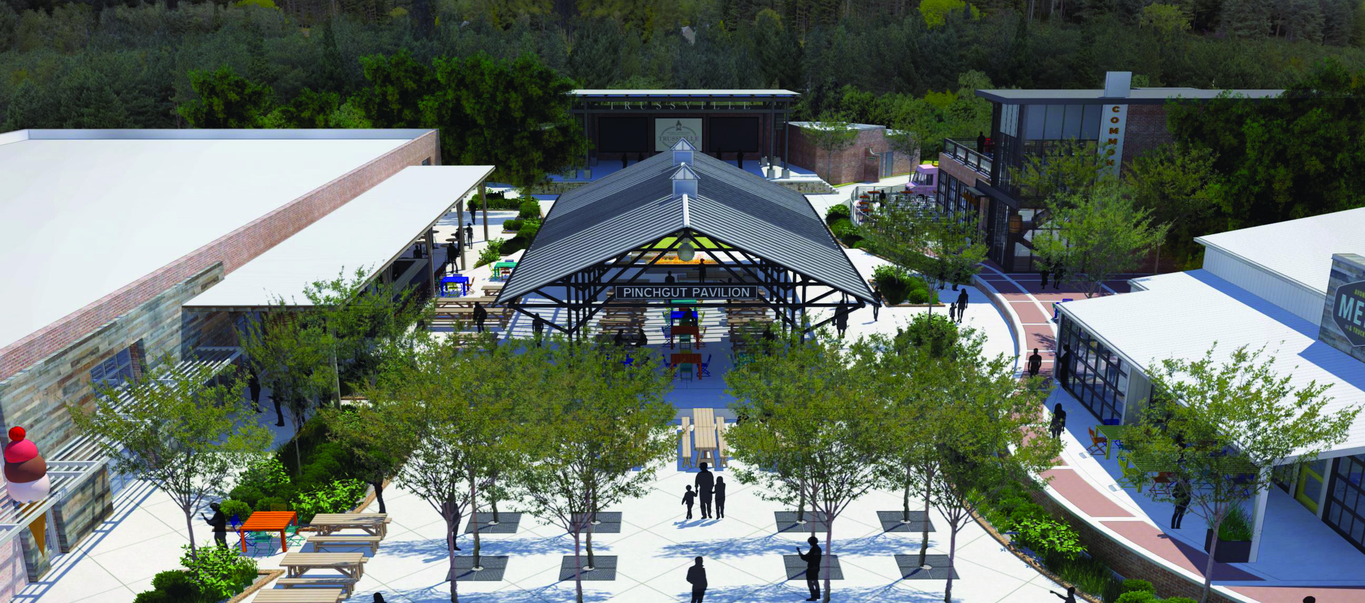 Trussville council vacates portion of Morrow Ave for amphitheater, pavilion in entertainment district