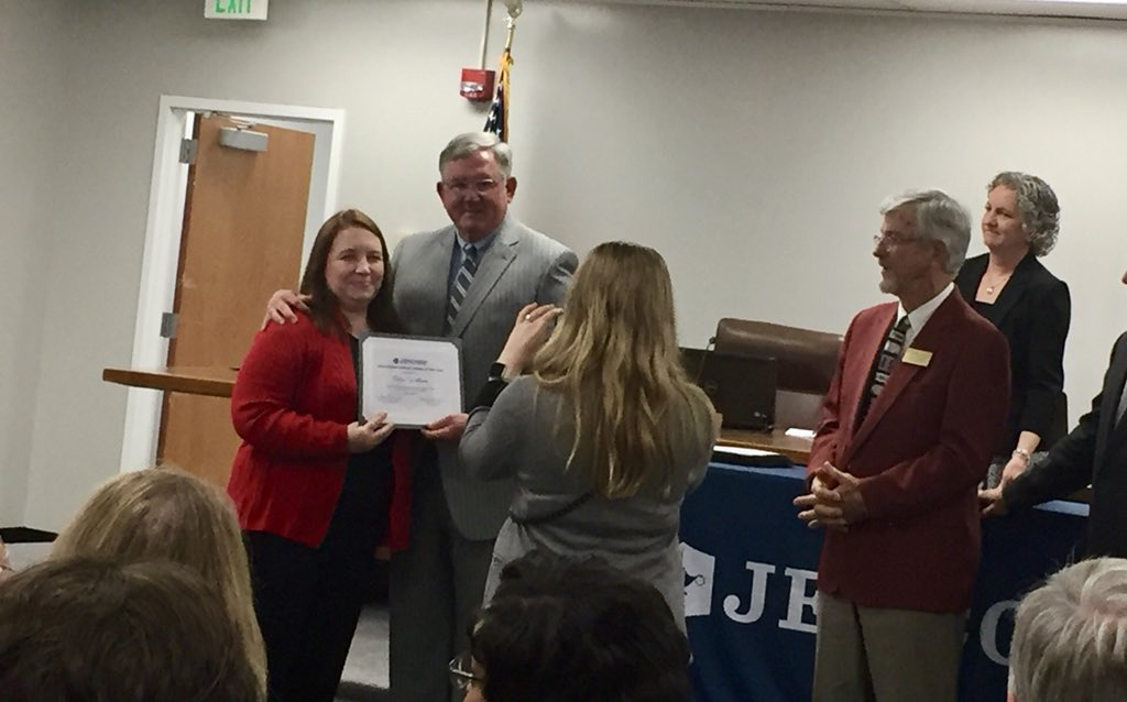 JEFCOED awards ESPY's to school support staff
