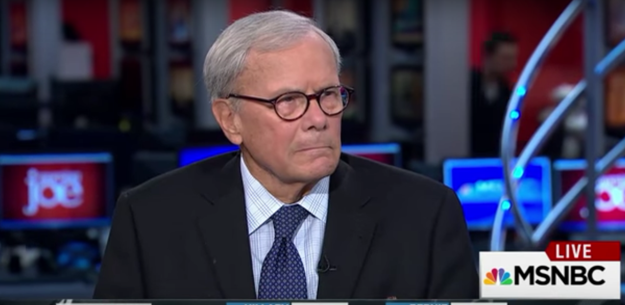 Tom Brokaw of NBC accused of sexual misconduct