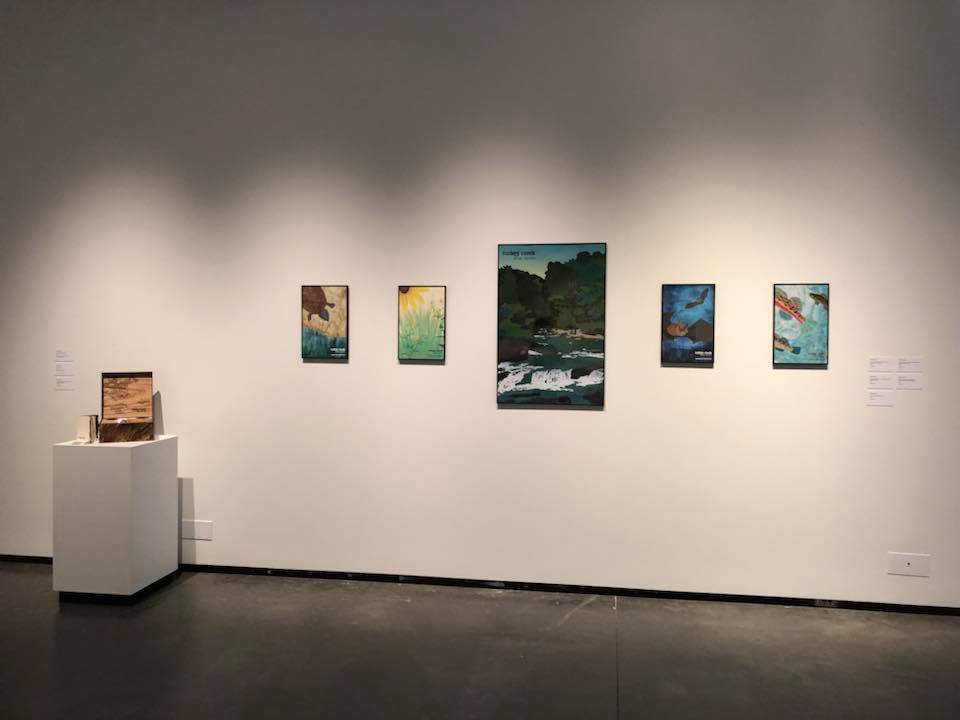 Pinson native graduating UAB inspired by Turkey Creek in art exhibition