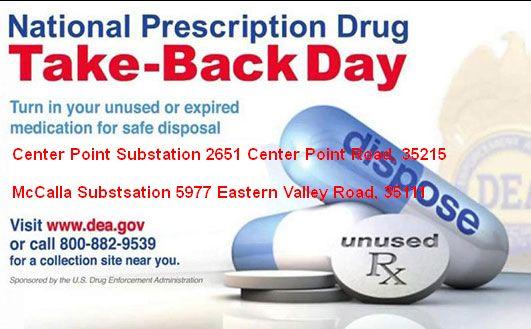 Prescription Drug Take Back Day April 28
