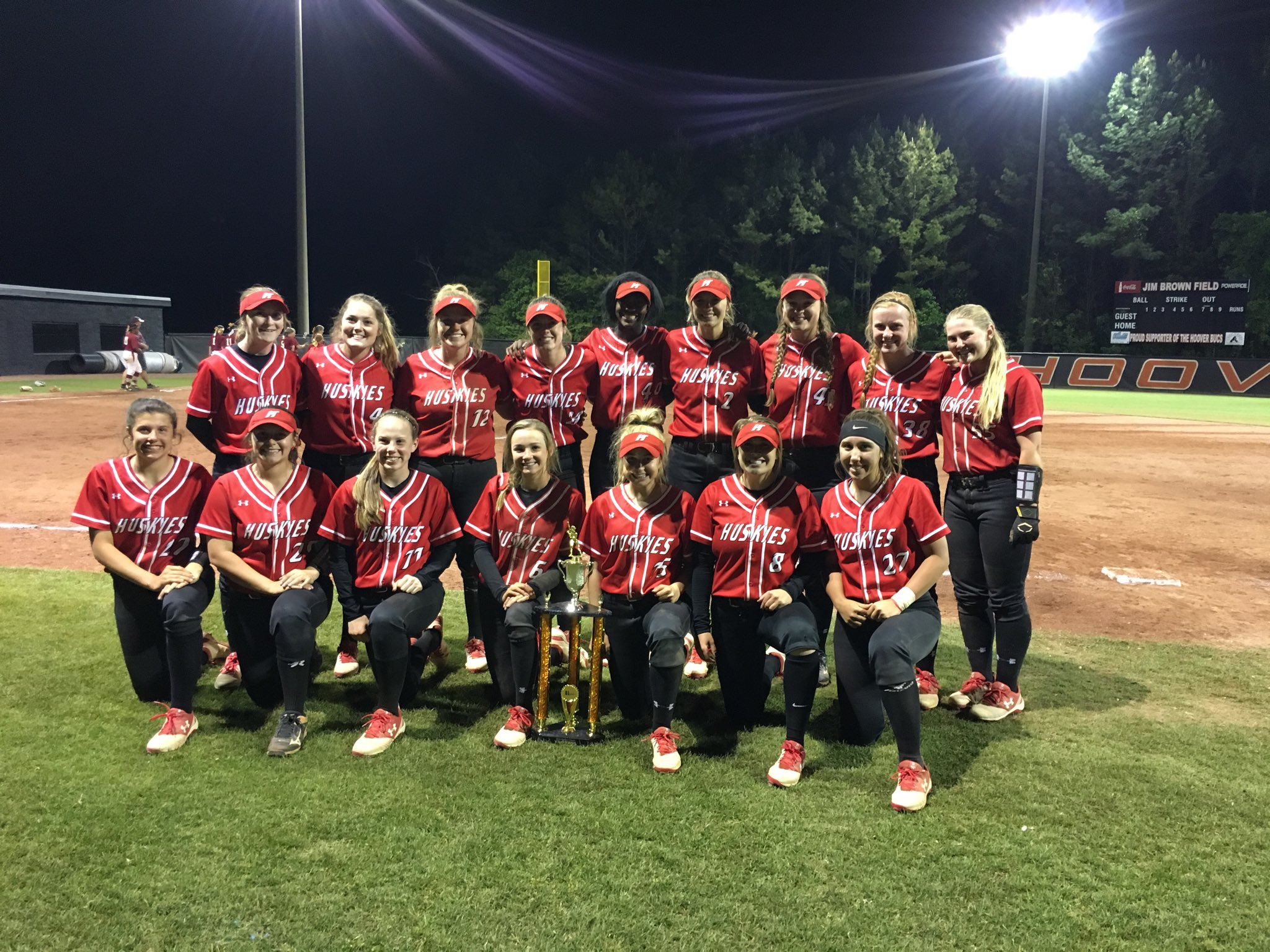 Hewitt-Trussville softball begins area bracket play at home today (Tuesday)