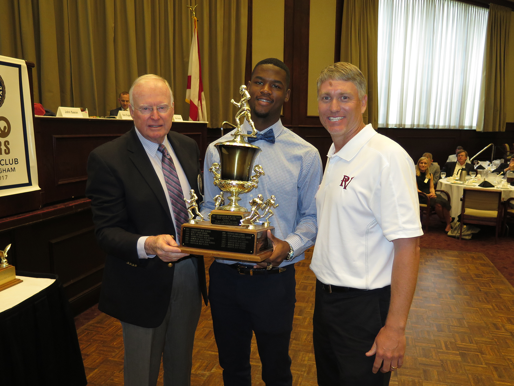 Undefeated PVHS football team honored with