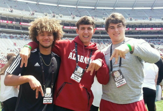 Hewitt-Trussville players at the center of Crimson Tide's in-state recruiting effort