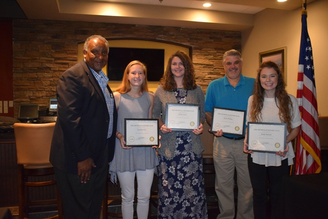 Trussville Rotary announces May students, teacher of the month