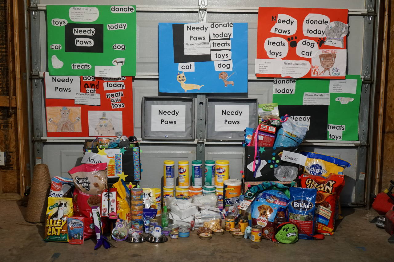 Clay Elementary student founds charity for Birmingham Humane Society