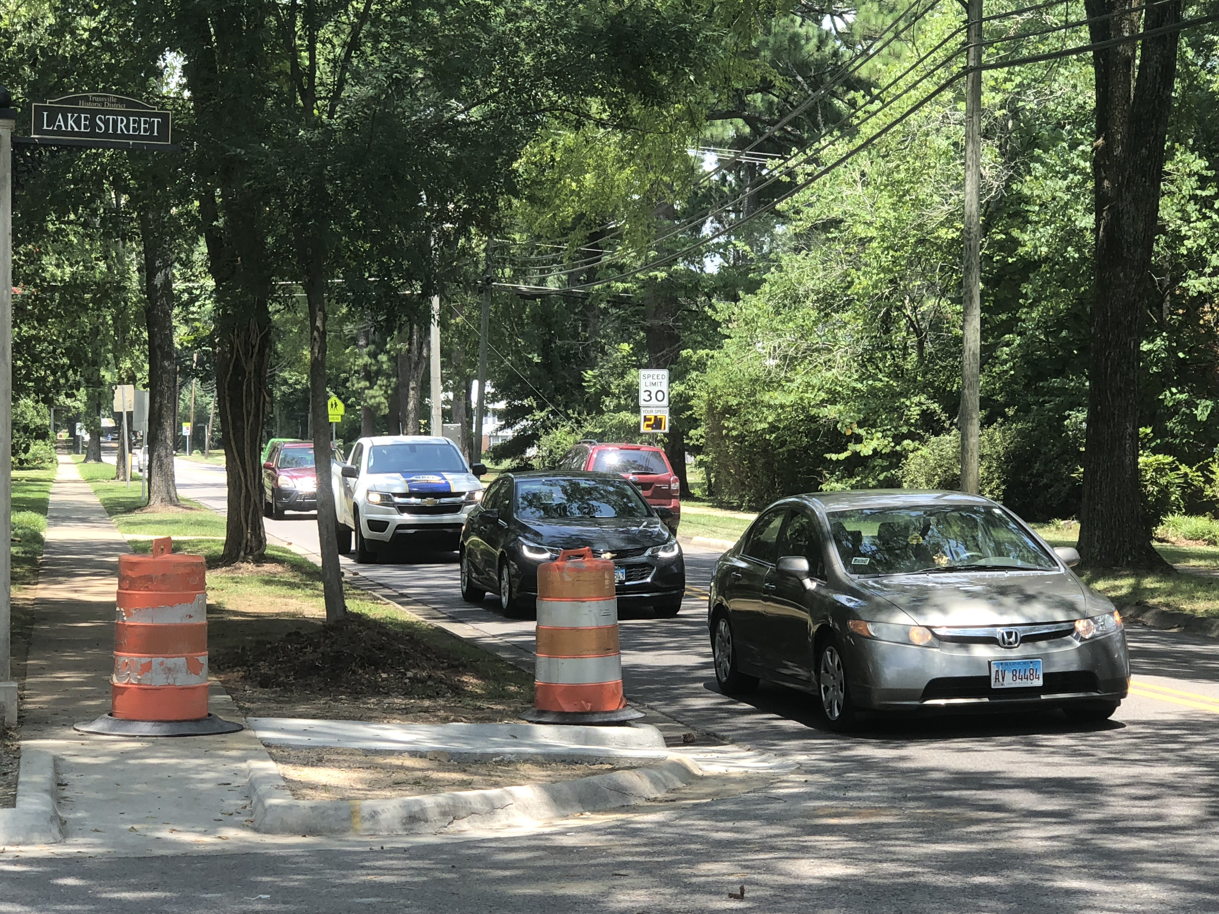 Trussville adds safety enhancements to street crossings