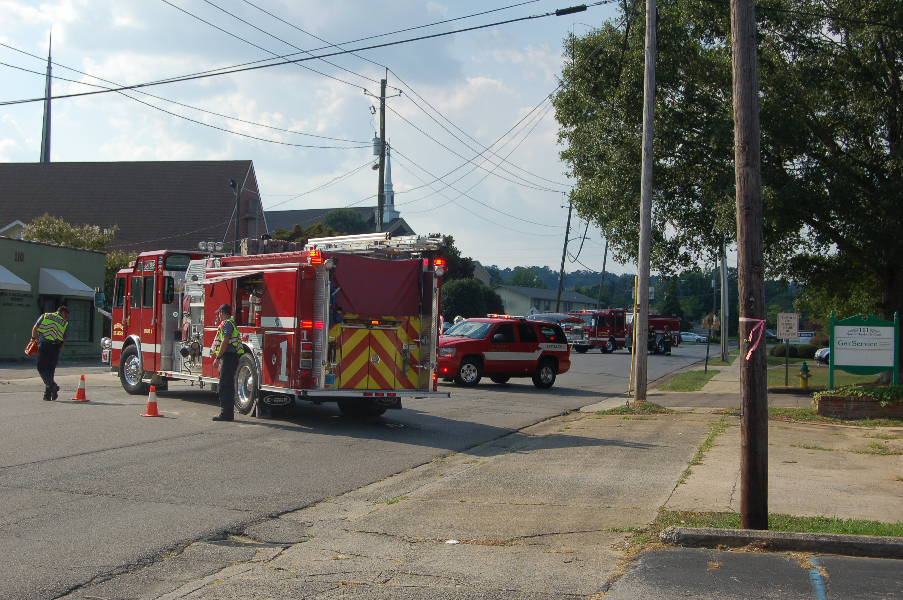 North Chalkville Road reopens after gas leak