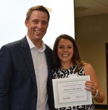 Trussville Chamber of Commerce announces Ambassador of Quarter