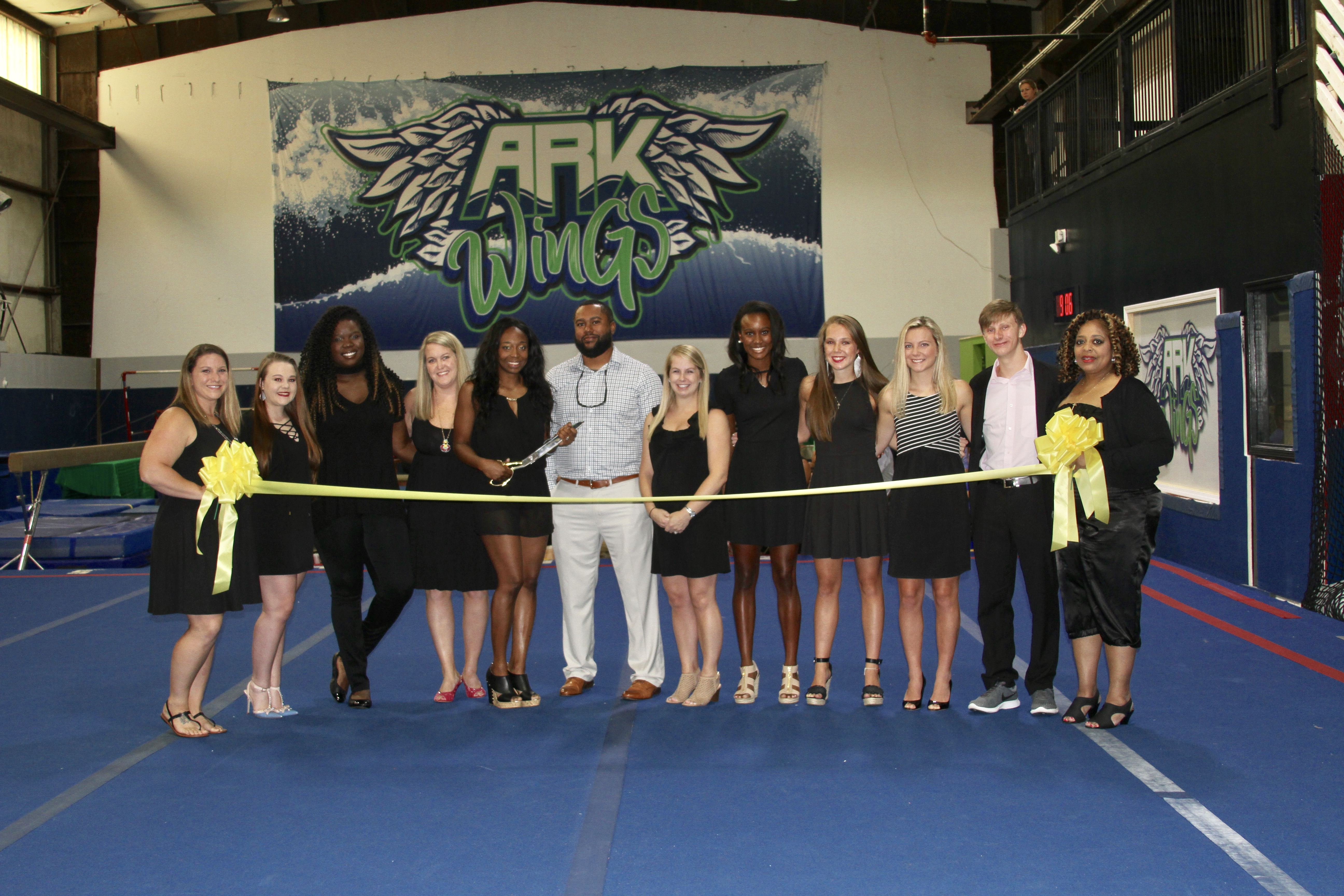 Ribbon cutting held for new ARK WinGS Gym in Trussville