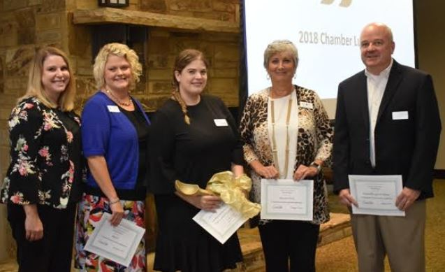 Trussville Chamber of Commerce announce winner of the