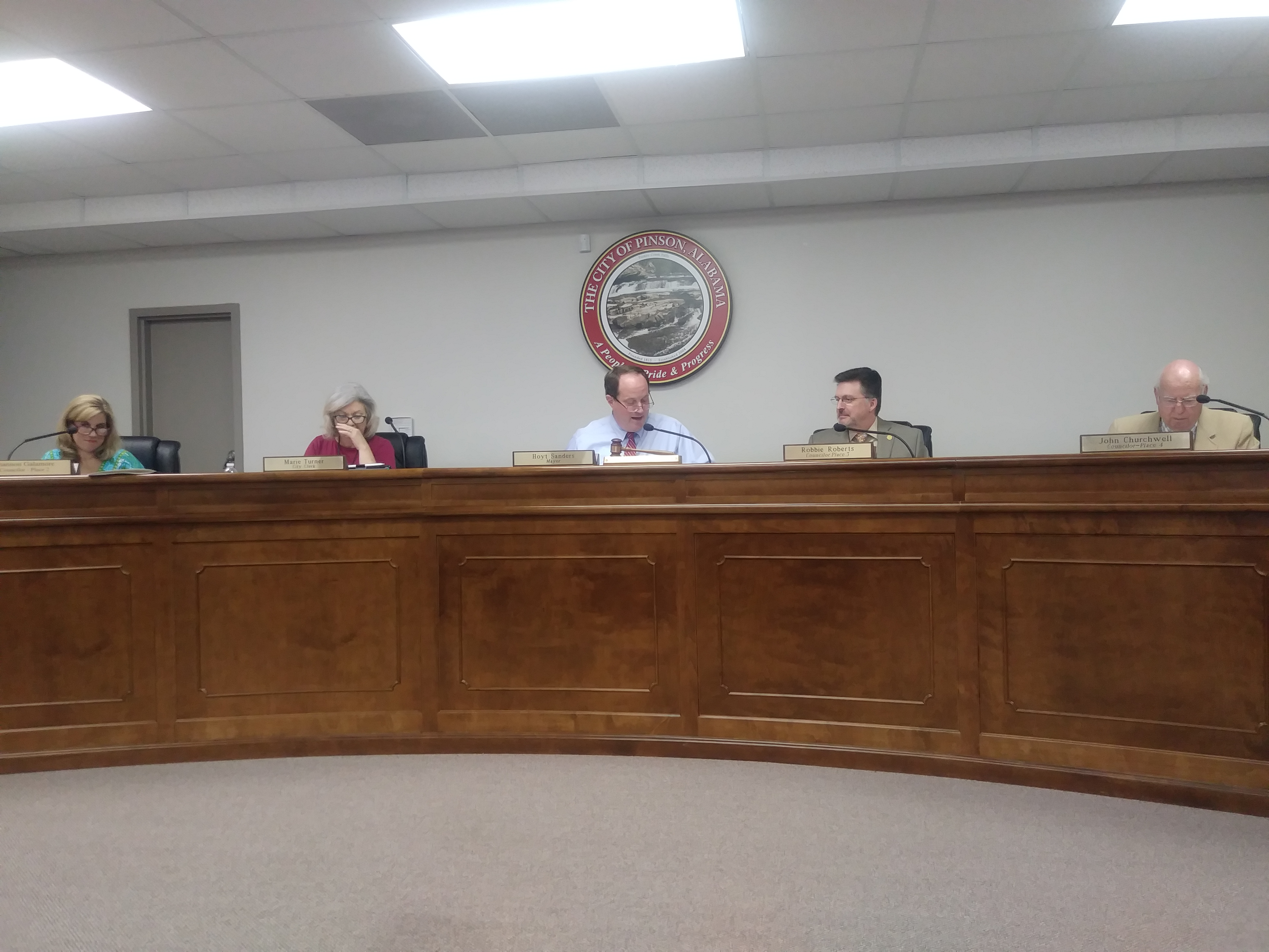 Pinson Council passes resolution recognizing Special Olympians, passes 19-20 budget