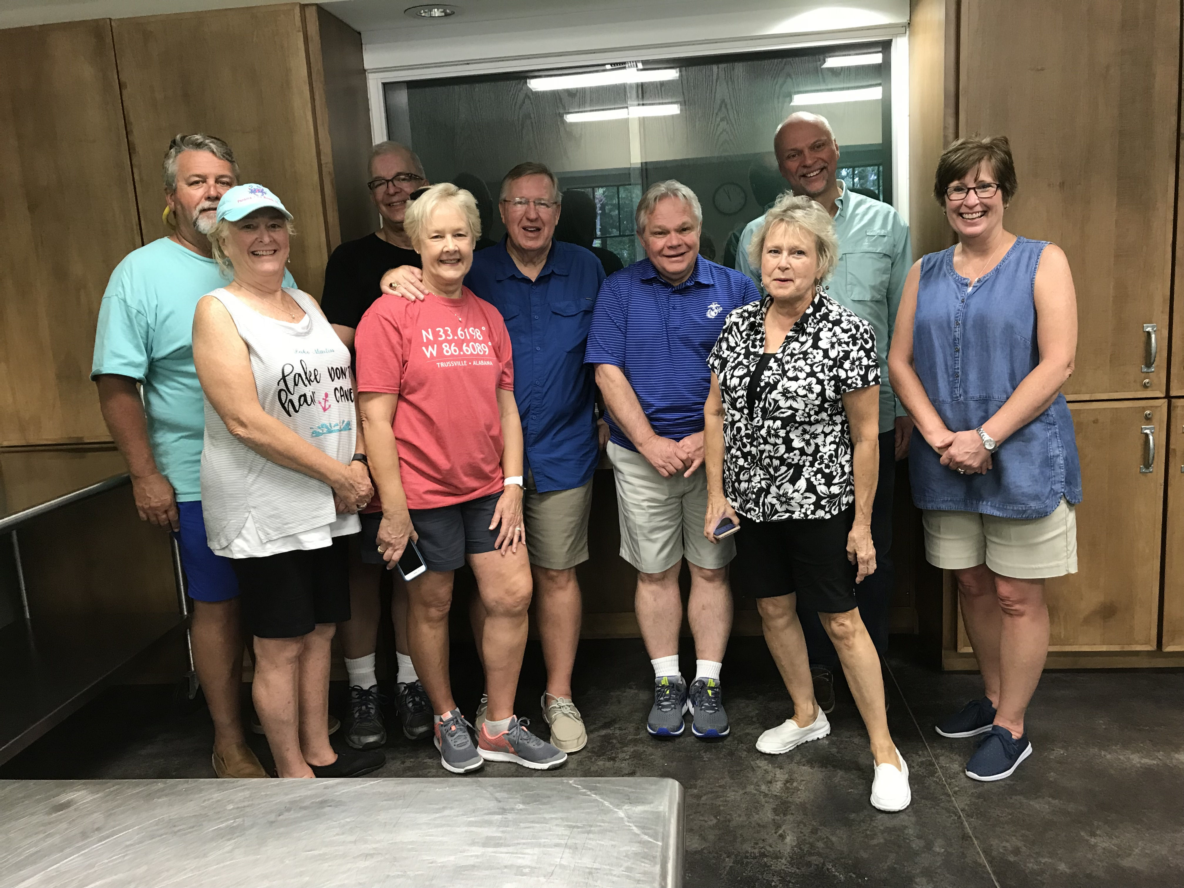 Trussville Rotary Club visit Smile-A-Mile, prepare lunch for young cancer survivors