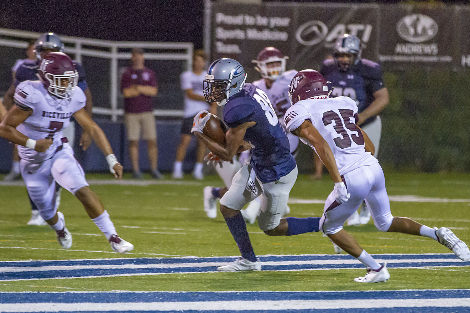Cougars dominate in 56-14 victory