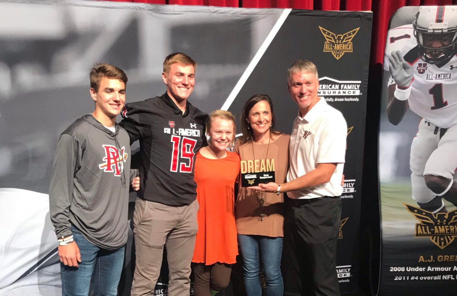 Pinson Valley's Bo Nix receives Under Armour All-American jersey