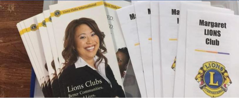 Margaret Lion's club is looking for new members