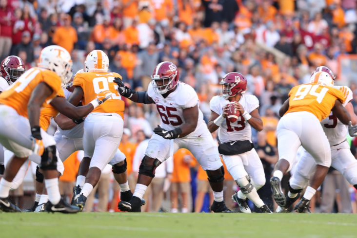Tide rolls in Knoxville, Alabama wins 12th straight over Tennessee