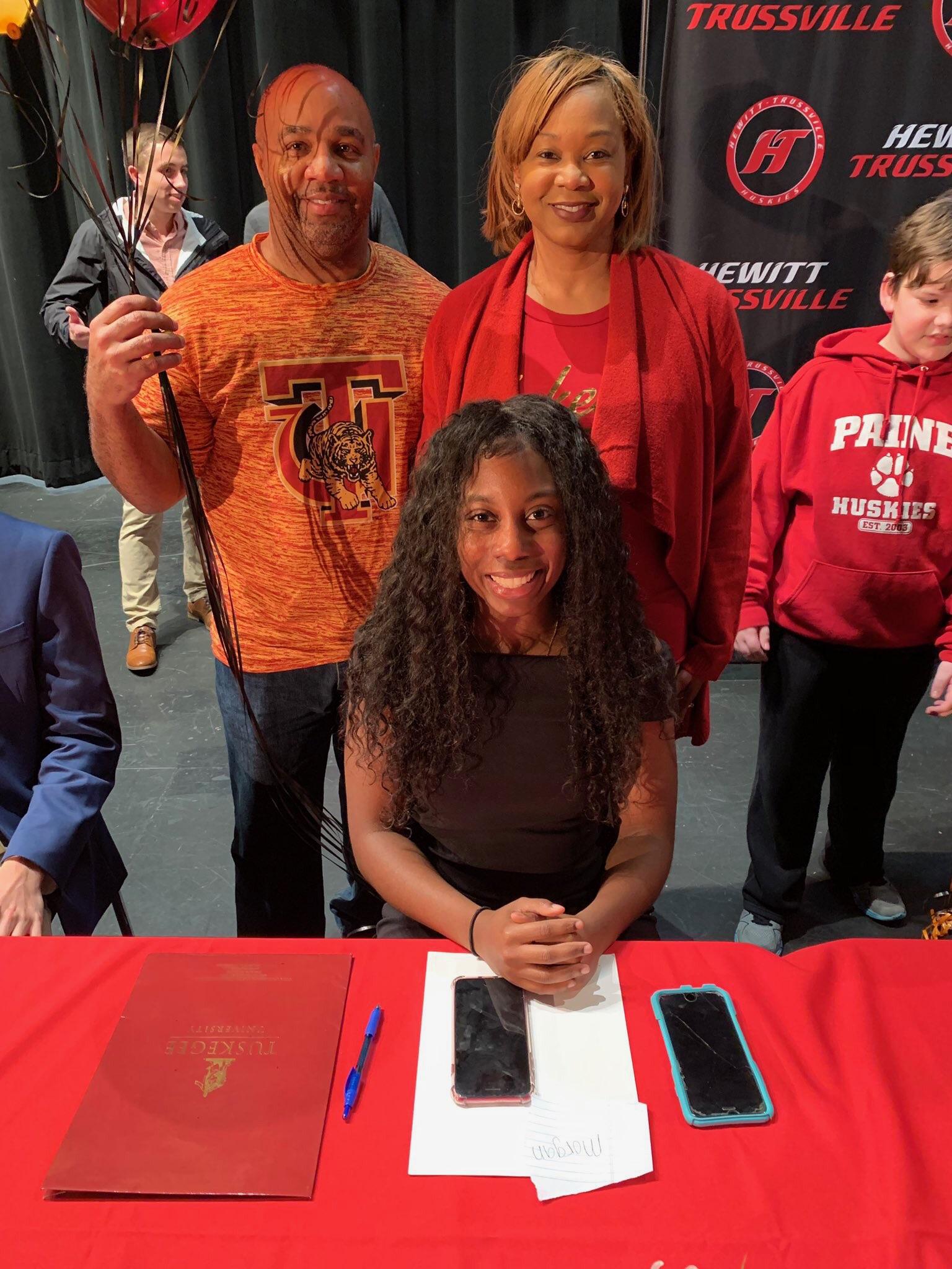 Huskies' Morgan Kirk signs with Tuskegee University