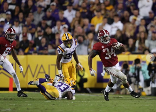 AP Top 25: LSU No. 1 ahead of 'Bama, Ohio St in close vote