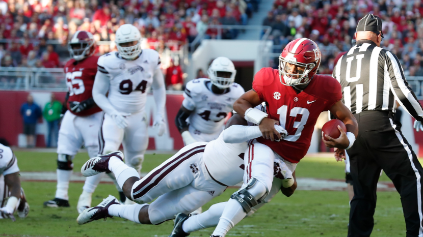 Alabama, Auburn turn attention to Iron Bowl, Tide opens as big favorite