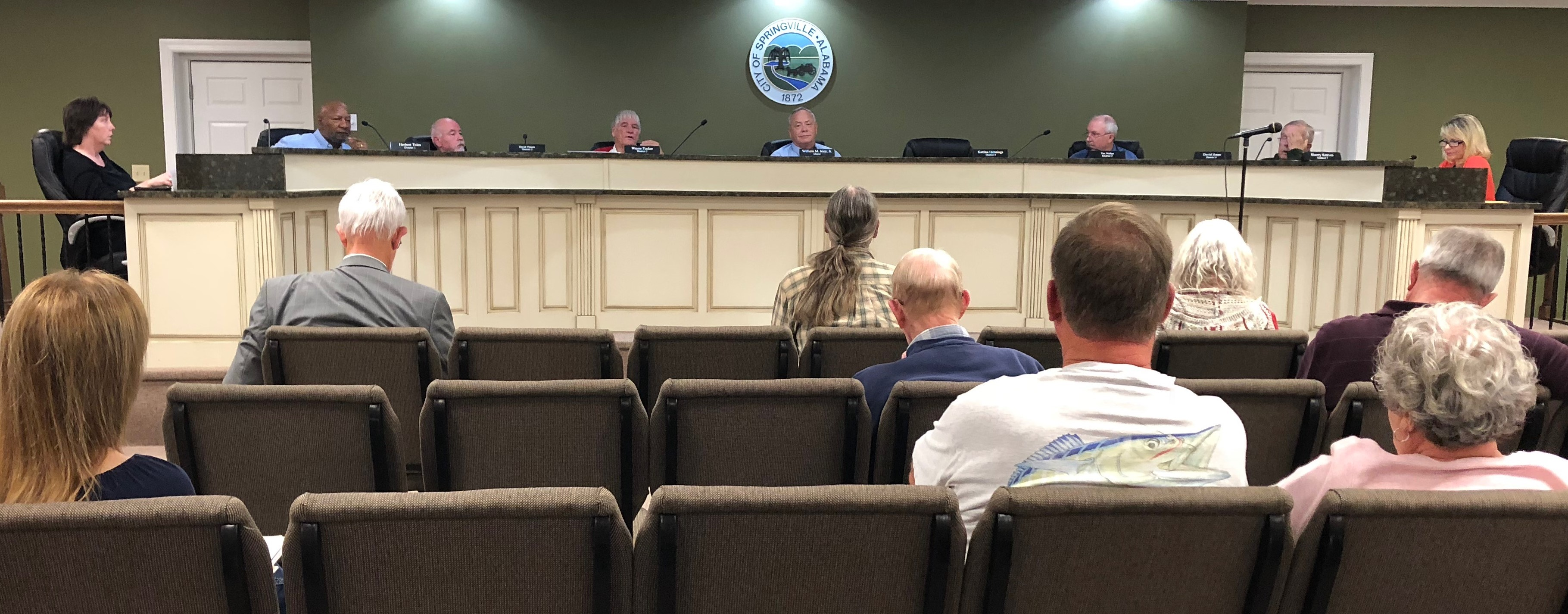 Springville Council addresses city sports fields, meets Miss Springville