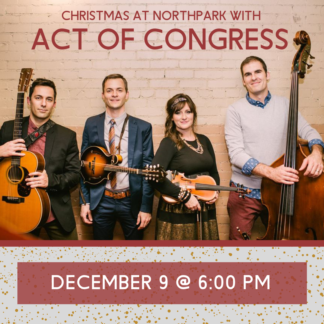 Act of Congress leads Northpark annual Christmas program Sunday