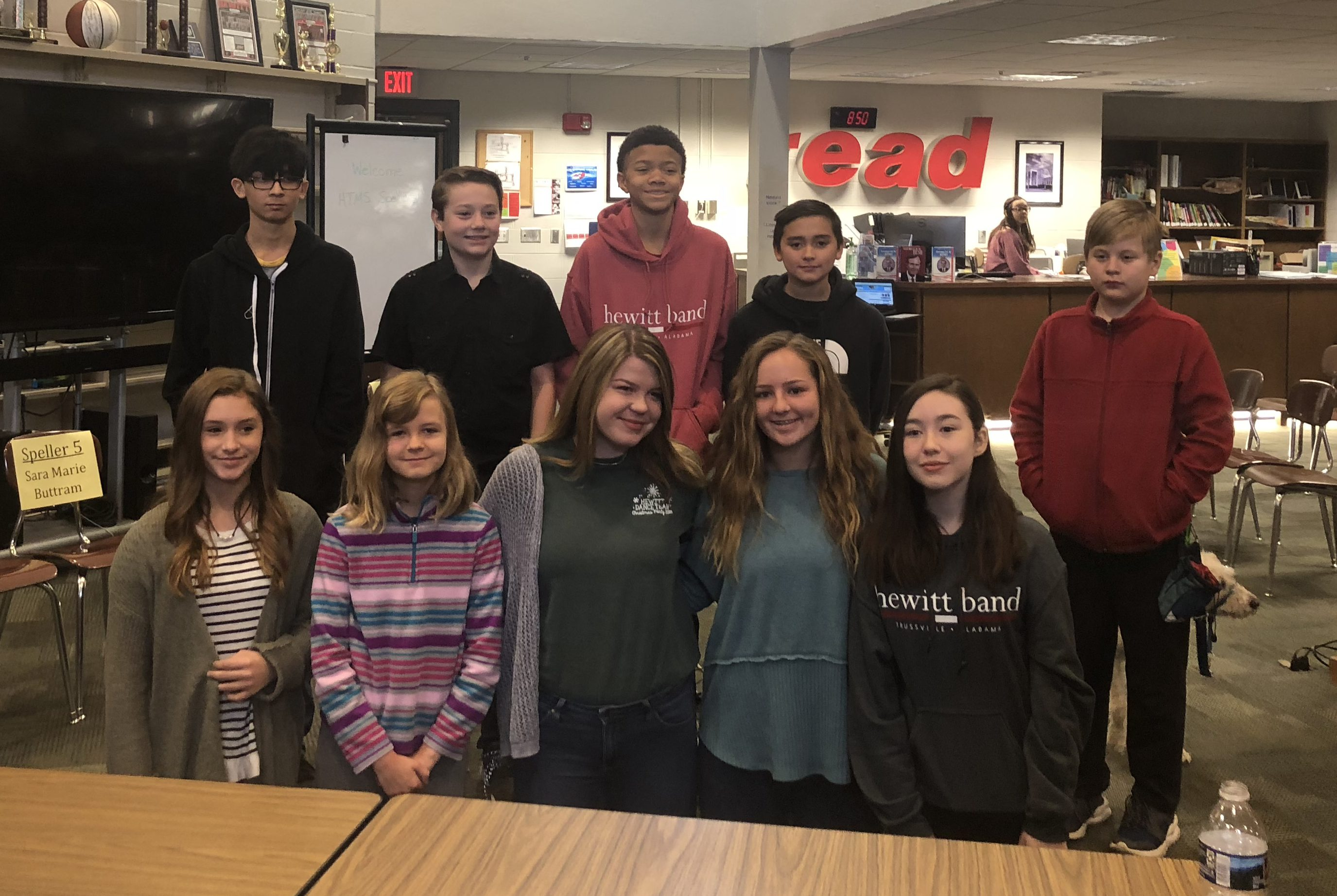 HTMS holds spelling bee competition