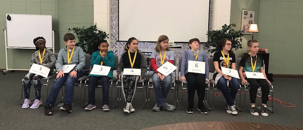 5th grader, Anna Green, wins Paine Elementary spelling bee