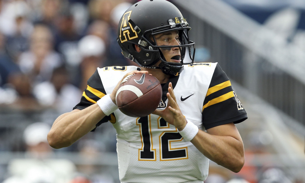 Former Husky Zac Thomas leads Appalachian State to New Orleans Bowl win