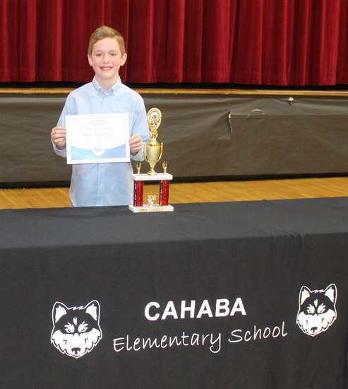Cahaba Elementary spelling bee winner to compete for District Title