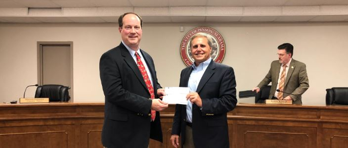 Pinson City Council receives funds for library, Turkey Creek