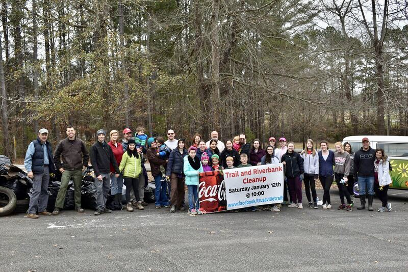 Trussville trail and riverbed clean up a great success
