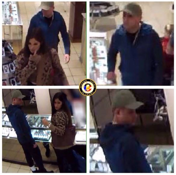 Have you seen them?  Hoover PD needs help identifying couple wanted for questioning