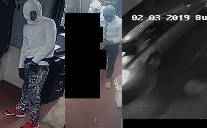 Have you seen them? Hoover requests help identifying suspects in armed robbery of Jim N' Nicks