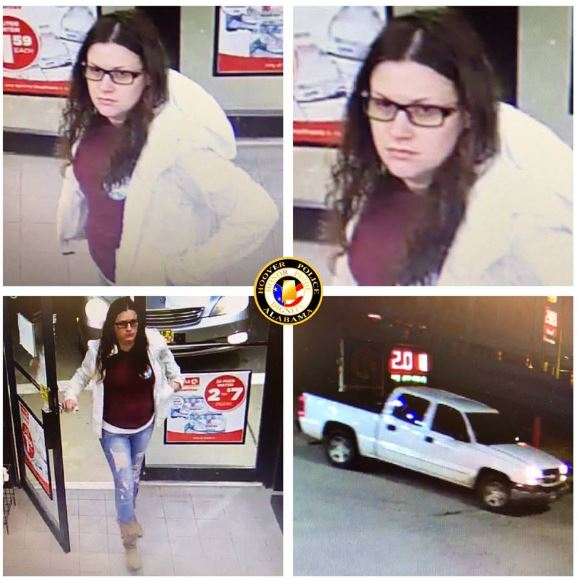 Have you seen this woman?  Hoover police seek help identifying an individual for questioning