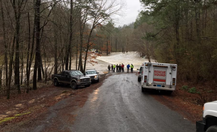 Search underway for missing north Alabama teen after floodwaters sweep vehicle away
