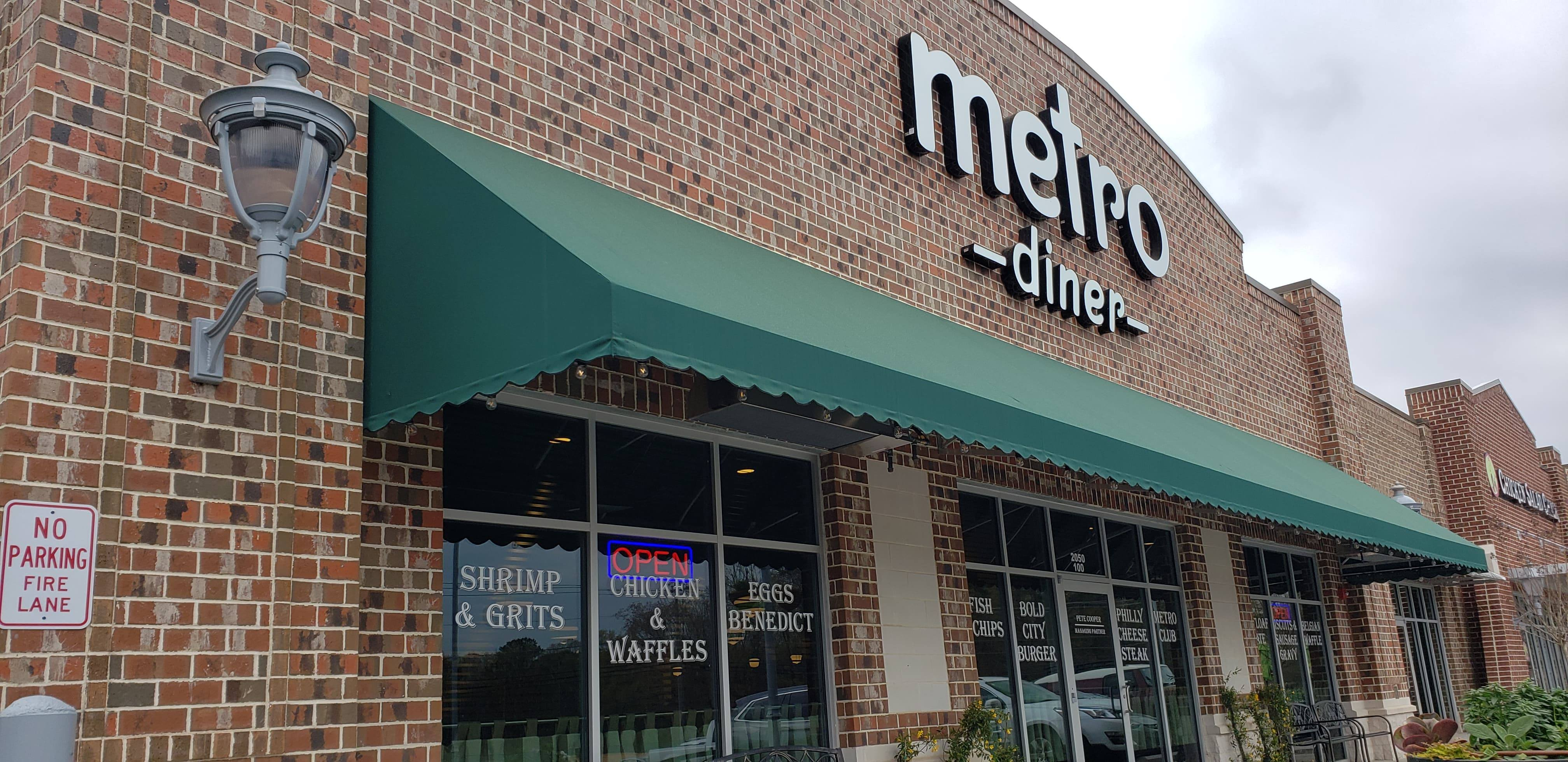 Metro Diner open for business