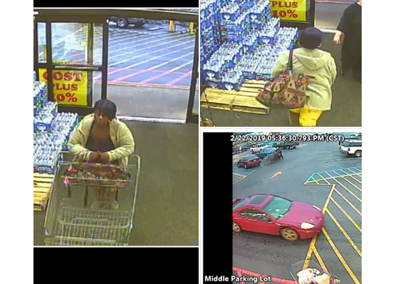 Pell City PD looking to identify suspect in theft of steaks, crab legs