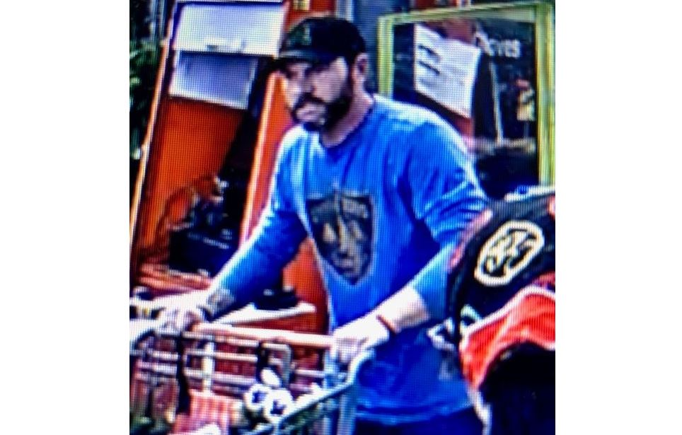 Authorities looking to identify man suspected of stealing from Trussville Home Depot