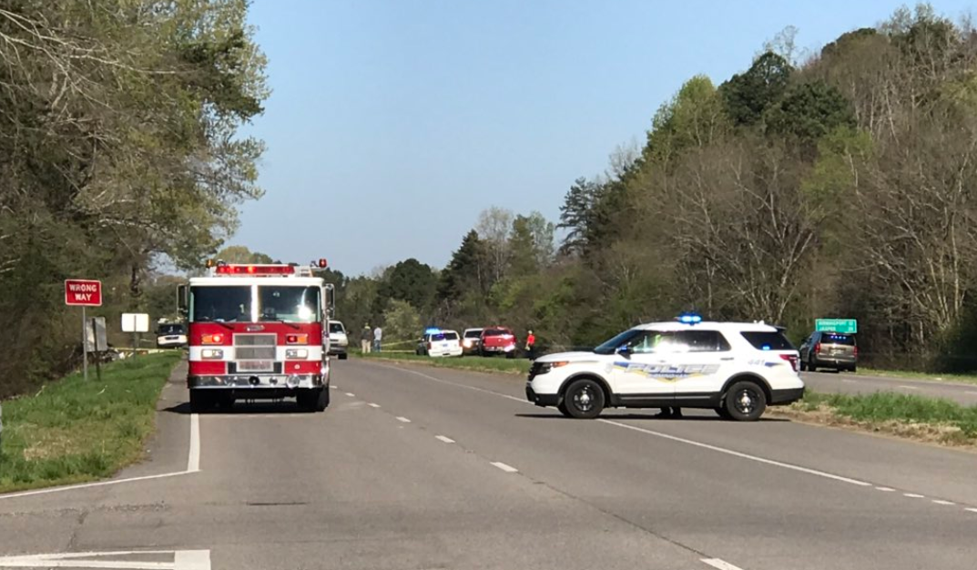 Road closed after wreck involving 3 children, 3 adults in Birmingham