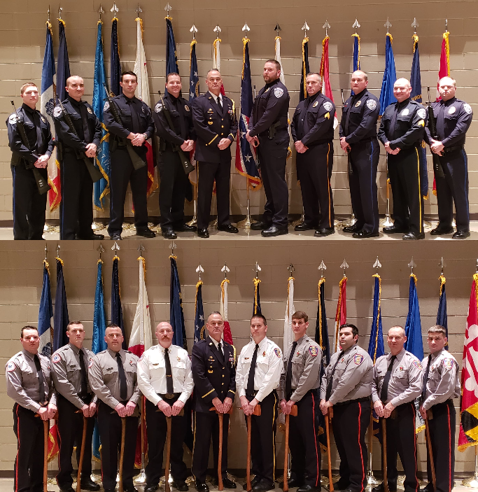 Trussville Police and Fire come together to complete Honor Guard training