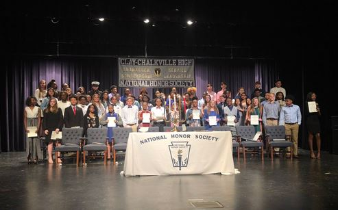 62 Clay-Chalkville High School students inducted into National Honor Society