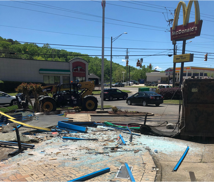 McDonald's makeover: renovations underway, will be closing soon