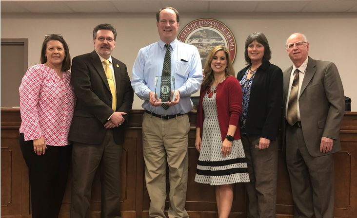 City of Pinson wins risk management award