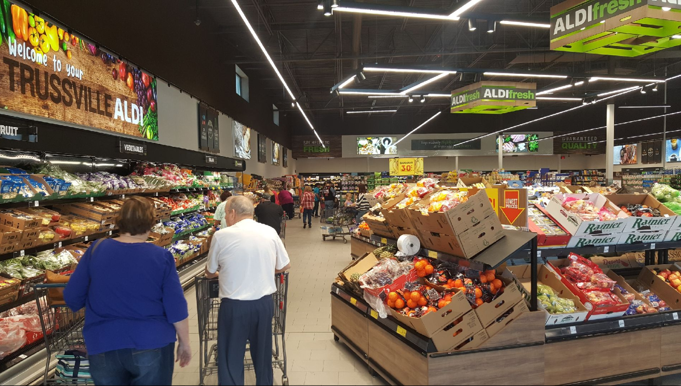 New and improved Aldi opens in Trussville