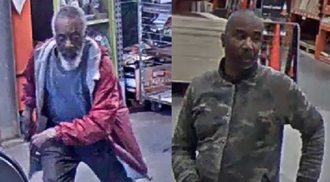 2 men wanted by Trussville Police are suspects in multiple thefts
