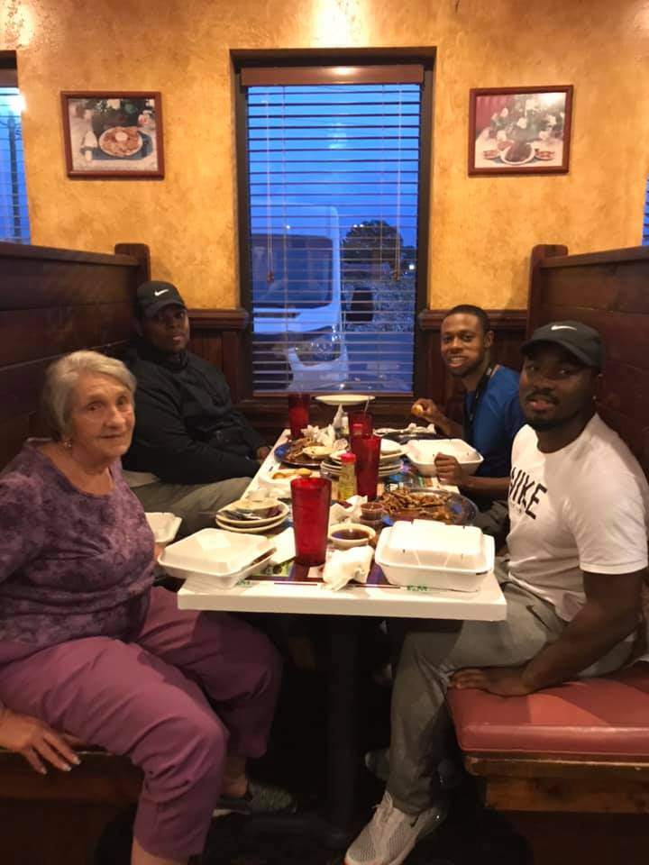 3 men join a woman for dinner...what happened next will give you goosebumps!