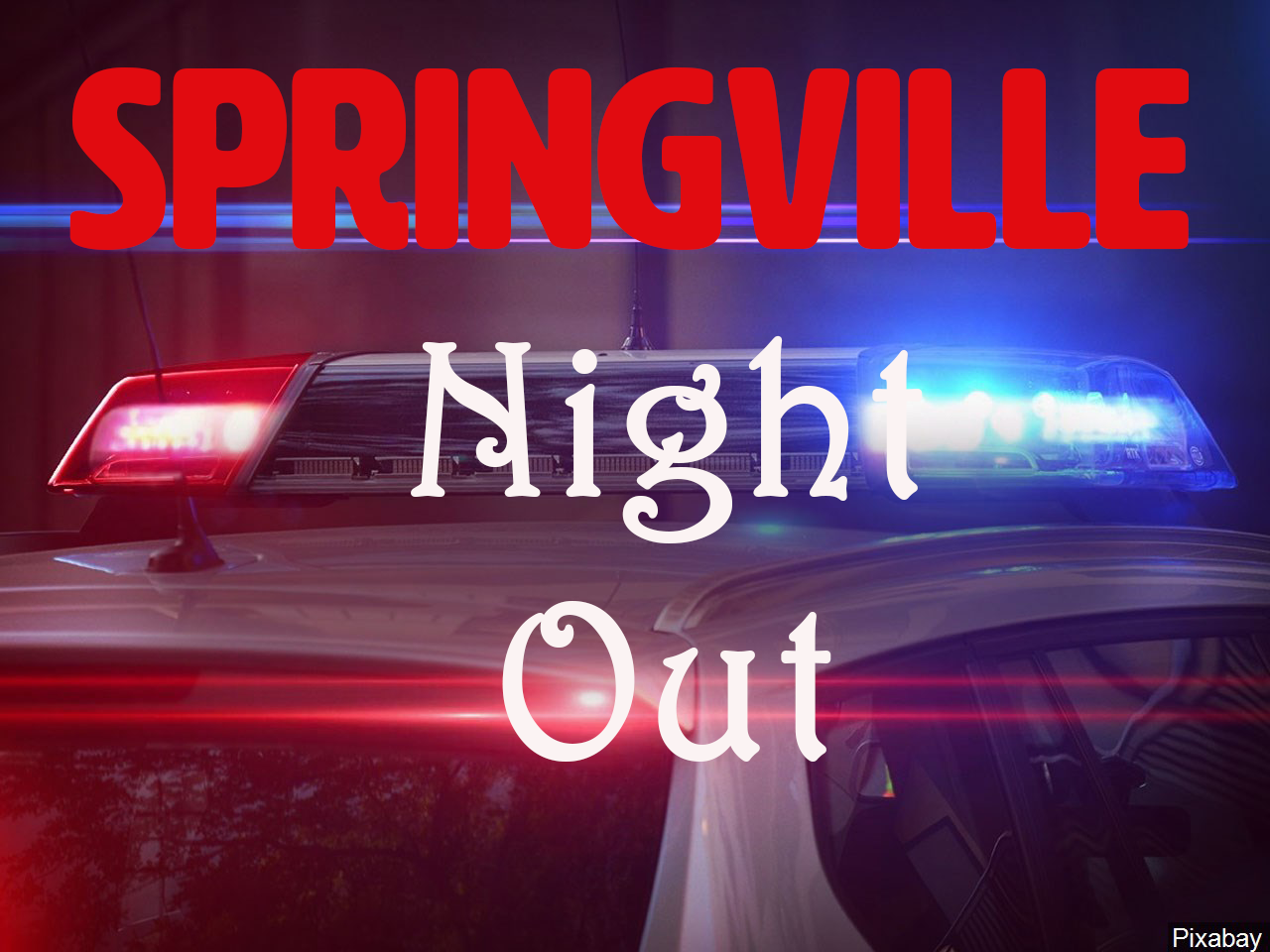 Springville Night Out set for May 4